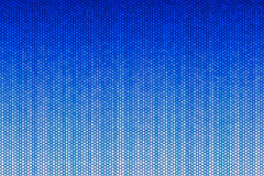 Blue Hexagon Pattern Stock Photography