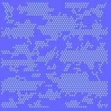 Digital hexagons patterns. Blue Hexagons - digital pattern. set royalty free illustration