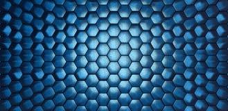 Blue hexagons modern background 3d render 3d illustration. Light blue hexagons modern background 3d render 3d illustration stock illustration