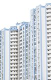 Blue high-rise building. Multi-storey new building Stock Image