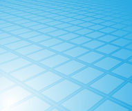 Blue high-tech digital background Stock Images