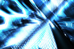 Blue High technology Abstract background Royalty Free Stock Image