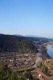 blue hill rzeki niebo Obraz Royalty Free