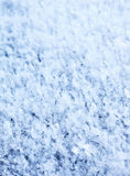Blue hoarfrost abstract background Royalty Free Stock Photos