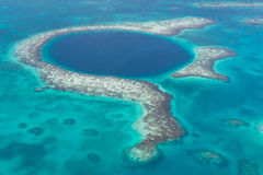 Blue Hole Stock Images