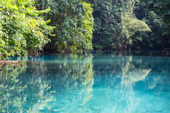 Blue Hole Royalty Free Stock Photography