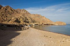The Blue Hole, Dahab, Egypt Stock Image