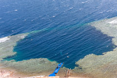Blue Hole, Dahab, Egypt Stock Photos