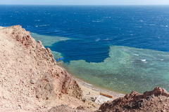 Blue Hole, Dahab, Egypt Royalty Free Stock Photography