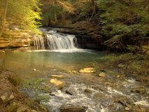 Blue Hole Falls. Tracy City,TN Royalty Free Stock Photos