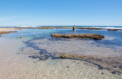 Blue Holes Beach: Snorkelling Spot Royalty Free Stock Images