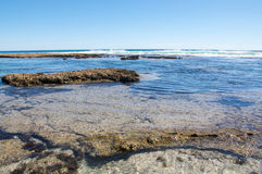 Blue Holes Tide Pools Royalty Free Stock Photo