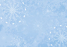 Blue holiday background. Stock Images