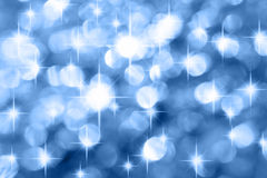 Blue holiday background Royalty Free Stock Photography