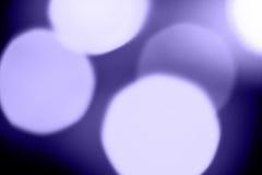 Blue holiday illumination Royalty Free Stock Images