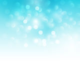 Blue holiday  light background Stock Photography