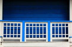 Blue home Royalty Free Stock Photography