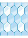 Blue honeycomb background Royalty Free Stock Image