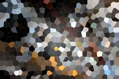 Blue honeycomb with dark parts Royalty Free Stock Photo