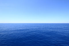 Blue horizon Royalty Free Stock Photography