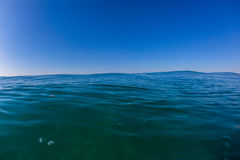 Blue Horizon Ocean Water Photo Stock Photography