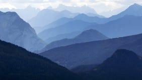 Blue horizons - Dolomiti Italy Stock Image