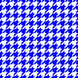 Blue hounds tooth Royalty Free Stock Photos