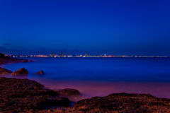 Blue hour Royalty Free Stock Images