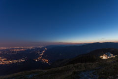 Free Blue Hour And Nigth Incoming On Venetian Prealps Royalty Free Stock Photography - 98127757
