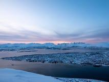 Free Blue Hour At Tromso, Troms Og Finnmark, Norway Royalty Free Stock Photos - 204042198