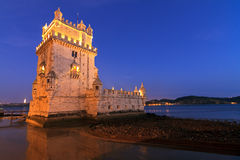 Blue hour Belem Royalty Free Stock Photos