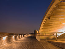 Blue Hour in Henderson Waves #2 Royalty Free Stock Image