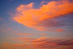 Blue hour in the Kalahari Stock Photography