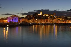 The Suquet - Cannes - Côte d`Azur royalty free stock photography