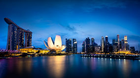 Blue hour Royalty Free Stock Image
