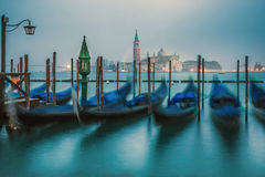 Blue hour of Venice Stock Images