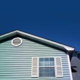 Blue house Royalty Free Stock Image