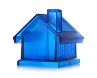 Blue house Royalty Free Stock Photography