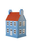 Blue house Royalty Free Stock Photos