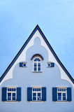 Blue house in Fussen Stock Images