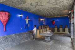 Blue House La Casa Azul Stock Images