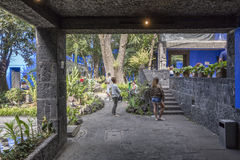 Blue House La Casa Azul Stock Photos