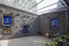 Blue House La Casa Azul Stock Photos