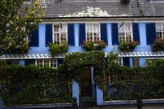 Blue house Stock Image