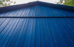 Blue house Royalty Free Stock Photo