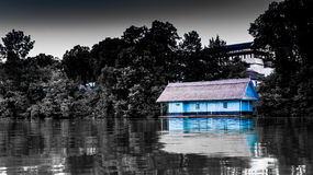 House on Lake Royalty Free Stock Image
