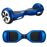 Blue hover board Stock Images