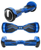 Blue hover board Royalty Free Stock Image