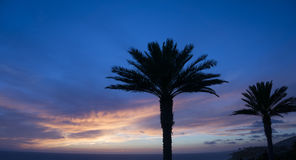 Blue Hue Sunset - Dana Point 2 Royalty Free Stock Photography