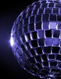 Blue Hued Disco Ball Royalty Free Stock Photos